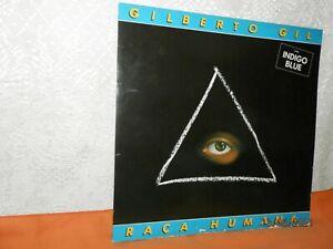 GILBERTO GIL raça umana LP 33tours WEA 252 122-1 Germany 1984