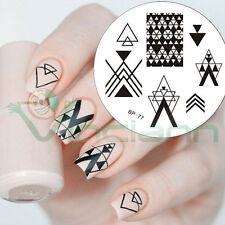 Stampo Triangle stampino timbro decorazione decori decoro unghie unghia nail art