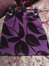 Boden Velvet Mini Skirt Size 10 Excellent  Condition