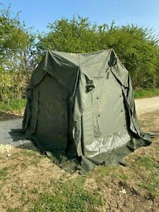 British Army 4 Way 12x12 Tent Connector CANVAS ONLY - Military Shelter Extension