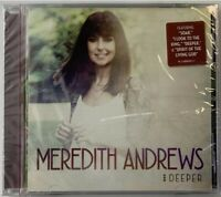 NEW! Meredith Andrews: Deeper (CD, Word Music, 2016) Sealed! Christian FREE SHIP