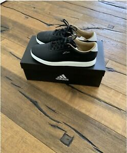 Adidas Herren Adipure Sp Golfschuh Black/White Gr. EU43 1/3, US 9,5 Golf