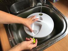 Salatwaschmaschine mit Seilzug Salatschleuder,waschen und Trocknen all in one!!