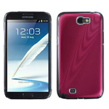 For Galaxy Note II T889/I605/N7100 Red Cosmo Back Protector Cover