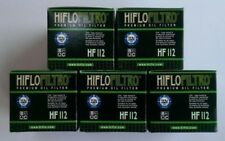 HONDA CRF250M (2014 to 2015) Hiflofiltro Filtre à huile (HF112) Pack de 5