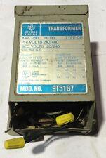 9T51B7 General Electric GE Type QB Transformer Dry-Type .250KVA. 480V