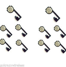 LOT OF 10 HOME KEY BUTTON FLEX REPLACEMENTCABLE FOR iphone 4 / 4G GSM IH115