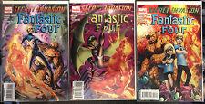 Secret Invasion Fantastic Four #1-3 Set VF NM- 1er Imprimé Marvel Bande-dessinée