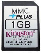 1gb 1g MMC MULTIMEDIA Memoria Tarjeta multimediacard + Plus 13 pins