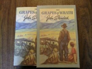 Grapes of Wrath by John Steinbeck facsimile of first edition