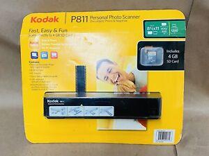 Brand New Sealed Kodak P811 Personal Photo Scanner- Document, Photo And Negative