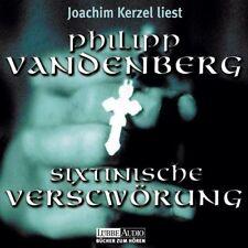 Philipp Vandenberg Sixtinische Verschwörung (Leser: Joachim Kerzel) [3 CD]