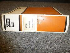 Case 1816 Uniloader Skid Steer Shop Service Repair Manual 972556