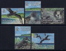 2004 PITCAIRN ISLANDS BIRDS: MURPHY'S PETREL SET OF 5 FINE MINT MNH