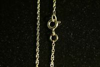 """9ct Gold Ladies Prince of Wales Rope Chain 16"""" - 26""""  Fully Hallmarked"""
