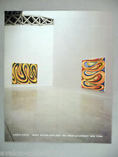 Karin Davie Art Gallery Exhibit PRINT AD - 2002
