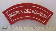 ORIGINAL Post WW2 AUSTRALIAN ARMY SHOULDER FLASH PATCH NORTH SHORE REGIMENT
