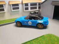 Hot Wheels Custom 1:64 Scale Mazda Mx5 Miata Hard Top