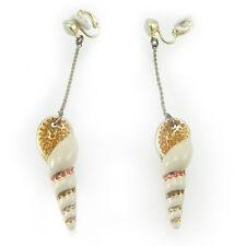 Swarovski orecchini donna originali clip con pendente conchiglia 894885