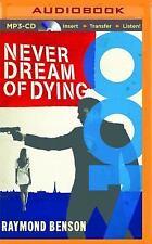 James Bond: Never Dream of Dying by Raymond Benson (2015, MP3 CD, Unabridged)