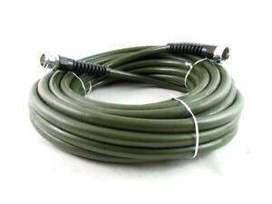 Lightweight 50 Foot Garden Hose Olive Green Slim & Light USA Made