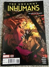 The Uncanny Inhumans #8 Rare 2016 Marvel Comic Near Mint Condition