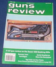 GUNS REVIEW MAGAZINE APRIL 1989 - THE SAUER 200 STALKING RIFLE