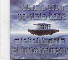 Celine Dion Kaas Fugain Francois -Promo cd maxi single
