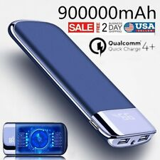 900000mAh Portable Power Bank External Battery Pack Huge Capacity Fast Charger