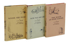 3 Winnie the Pooh Books ~ A. A. MILNE ~ First UK Edition All 1st Prints 1926 AA