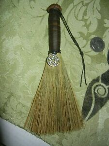 """HAND MADE 7""""  Besom Broom Witch Pagan Wicca Ritual  Working Altar"""