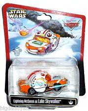 New Disney Star Wars Weekends Figure Cars Lightning McQueen as Luke Skywalker