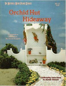 Dollhouse Miniature Orchid Hut Hideaway & Landscaping Instructional Book BOY121