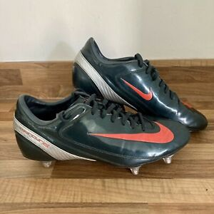 Retro Rare Nike Mecurial Veloci SG Football Boots UK Size 9