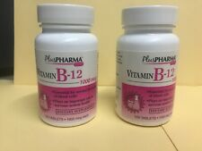 200  Vitamin B-12  B12 Tablet, 1000mcg, by Plus Pharma