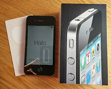 Apple iPhone 4 - 32GB - Schwarz (Ohne Simlock) A1332 (GSM)