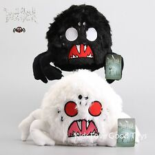 2X Don't Starve White & Black Shadow Spider Plush Toy Soft Stuffed Doll 9'' NWT