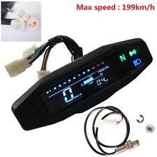 motorcycle LCD speedometer digital odemeter electric injection carburetor meter