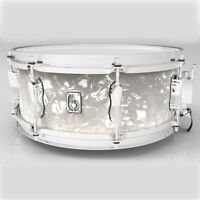 "British Drum Company 14 X 6.5"" Lounge Series Snare Drum - Windemere Pearl"