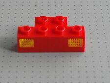 Lego Eléctrico-Rojo 1 X 4 Birlos Prisma Y Holder-tren Luces - (2928 2919)