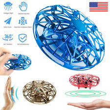 Magic Flying UFO Hand Induction Aircraft Helicopter RC Drone Toys Kids Gift USA