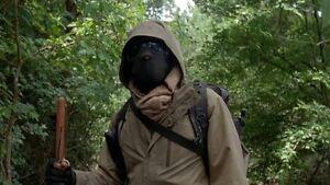 Morgan From The Walking Dead replica mask