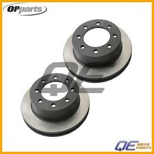 Set of 2 Rear Disc Brake Rotor OPparts 40520021 For Chevrolet Avalanche 2500 GMC