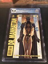 Before Watchmen Dr Manhattan 4 CGC 9.4 Batman The Button
