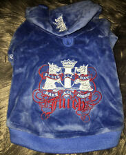 New listing Juicy Couture Dog Sweater Hoodie Sweatshirt New Sz Small Yorkie Pet Supplies