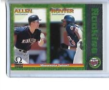1999 TORII HUNTER/CHAD ALLEN PACIFIC OMEGA ROOKIE #141 TWINS
