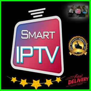 IP -TV 1 year subscription ( ✔️M3U✔️SMART TV✔️ANDROID✔️MAG✔️... 4K)