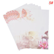 Chinese Style Letter Paper Writing Stationary Paper for Postcard Letter BDAU