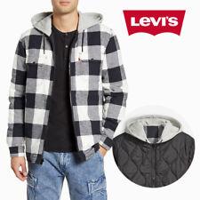 Levis Hombre Reversible con Capucha Cremallera Chaqueta De Franela X Justin Timberlake 86186