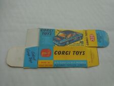 CORGI TOYS NO. 304S MERCEDES BENZ 300SL HARDTOP ROADSTER REPRO BOX ONLY